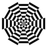Dodecagon Black & White