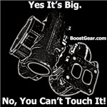 Yes It's Big,  No You Can't Touch It!