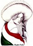MEXICAN FLAG CHARRA