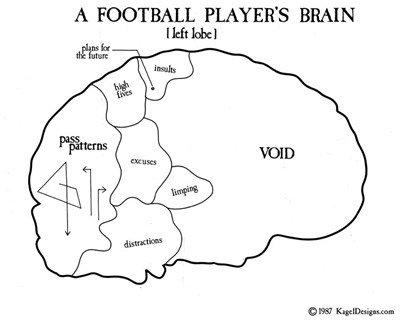 A Football Player's Brain