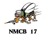 Bee with NMCB 17