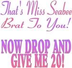 Miss Seabee Brat