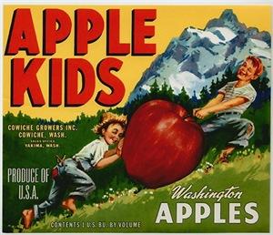 Vintage Fruit & Vegetable Labels