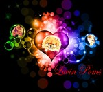 Luvin Poms Logo