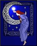 Celtic Moon Woman