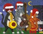 Christmas Jazz Cats