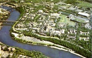 Aerial View, University of Minnesota, 1962