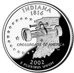 Indiana Quarter