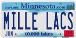 Mille Lacs License Plate Shop