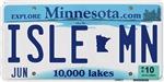 Isle License Plate Shop