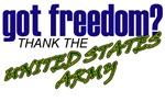 US Army Got Freedom? Designs