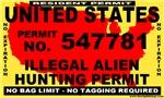 Anti ILLEGAL Immigrant Bumper Stickers