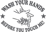 Wash Your Hand! Gray