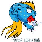 Drink Like a Fish T-Shirts