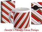 Santa's Candy Cane Designs