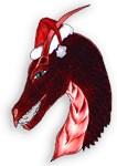 Red Christmas Dragon