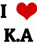I Love K.A