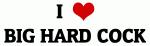 I Love BIG HARD COCK