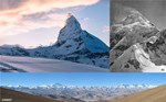 Everest,K2, and Matterhorn Summits