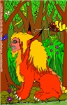 Manticore by Forest Stream