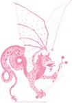 Pink Battle Dragon