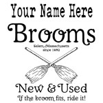 New & Used Brooms