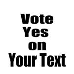 Customizable Vote Yes