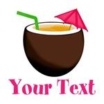 Personalizable Coconut Drink