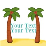 Personalizable Palm Trees