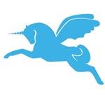 Blue Pegasus Pony