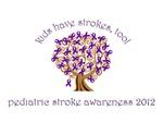 Pediatric Stroke Ribbon Tree
