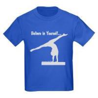 Kids Gymnastics T-shirts - Dark