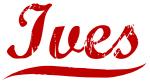 Ives (red vintage)