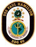USS Paul Hamilton DDG 60 Navy Ship