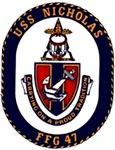 USS Nicholas FFG-47 Navy Ship