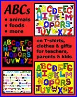 ALPHABET T-SHIRTS FOR KIDS, PARENTS & TEACHERS