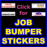 DOCTOR BUMPER STICKERS