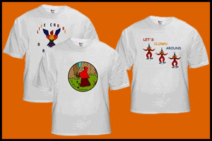 KIDS T-SHIRTS DECORATED WITH PICTURES