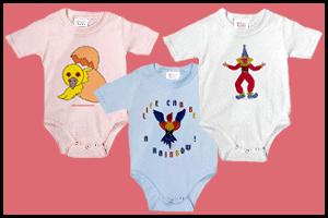 INFANT BODYSUITS WITH CUTE PICTURES