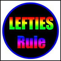 LEFTIES RULE LEFTY T-SHIRTS & LEFTIES GIFTS