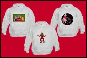 HOODED SWEATSHIRTS FOR KIDS WITH PICTURES