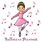 Ballerina Princess (Black Hair)