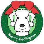 Bedlington Terrier Christmas Ornaments
