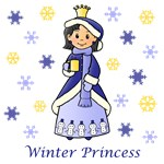 Winter Princess (Black Hair)