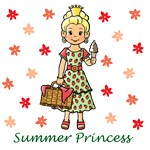Summer Princess (Blonde Hair)