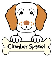 Personalized Clumber Spaniel