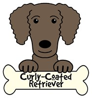 Personalized Curly-Coated Retriever
