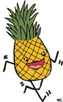 Happy Pineapple Clothes and Accessories