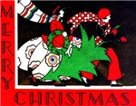 Art Deco Vintage Style Christmas & Holiday