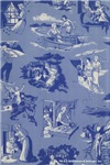 Nancy Drew: Blue Multi Endpaper